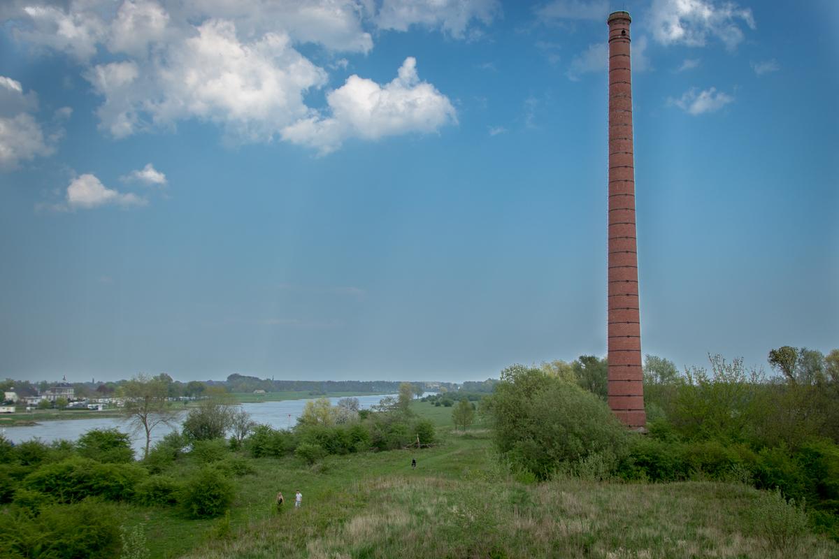 Steenfabriek Fortmond uitzicht