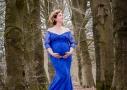 Zwangerschapsfotografie in het bos
