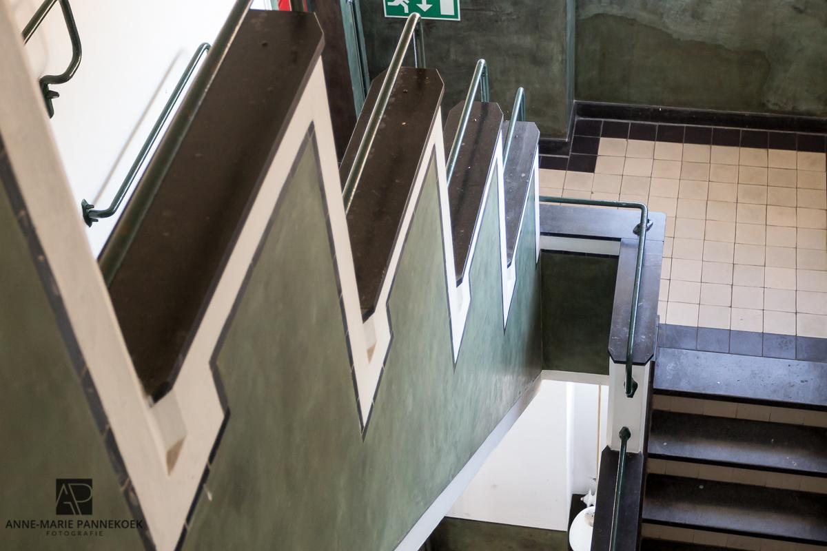 Radio Kootwijk trappenhuis