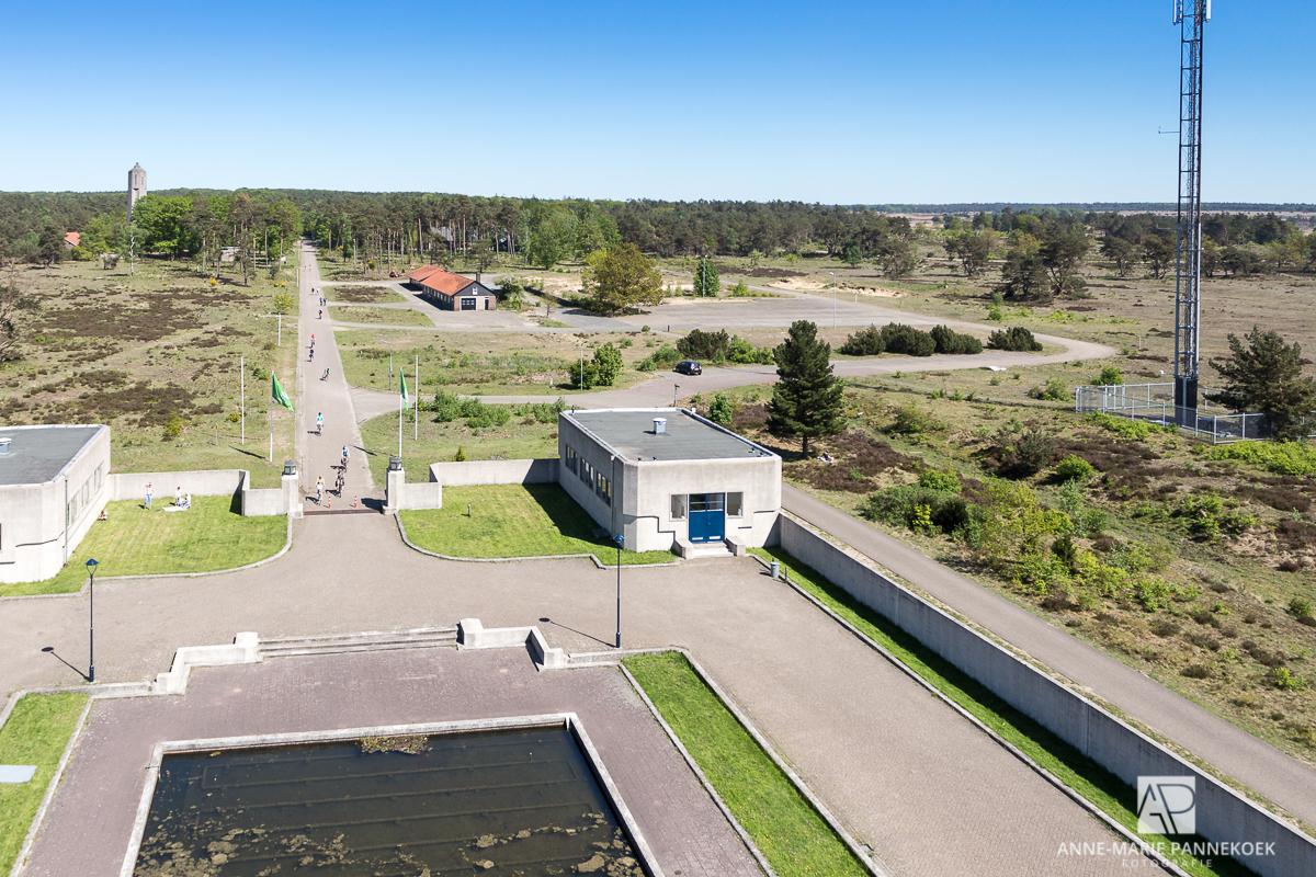 Radio Kootwijk uitzicht voorkant