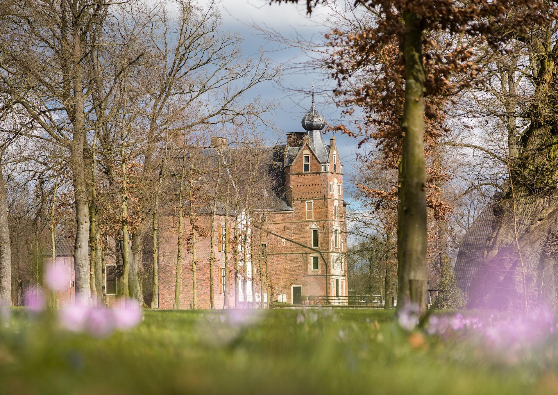 Kaart kasteel Cannenburch Vaassen